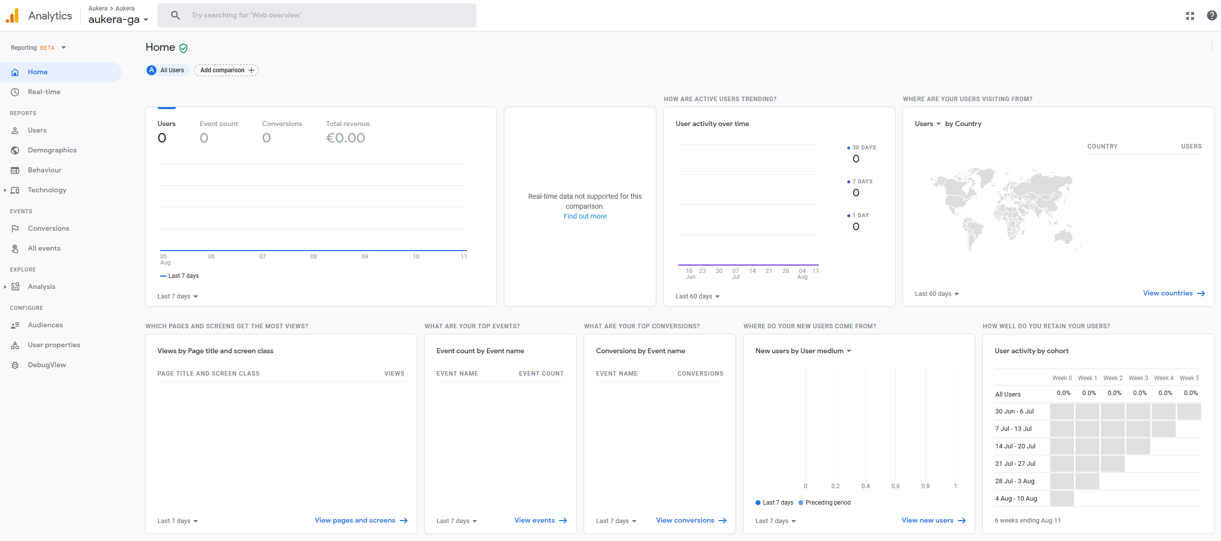 Nueva interfaz de Google Analytics App + Web