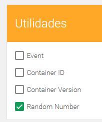 Variable número aleatorio en Google Tag Manager
