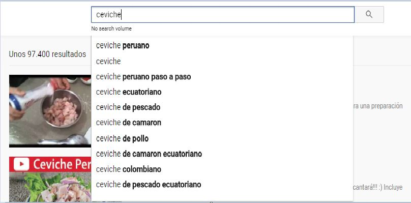 ceviche instant youtube