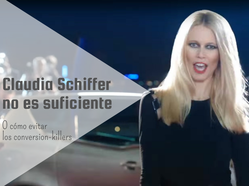 Claudia Schiffer no es suficiente