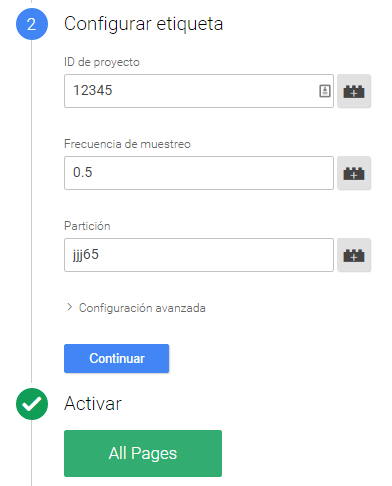 configuracion-clicktale-googletagmanager