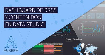 Dashboard de RRSS y contenidos en Google Data Studio