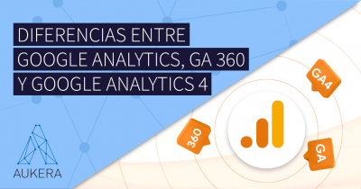 Diferencias entre Google Analytics, Google Analytics 360 y Google Analytics 4
