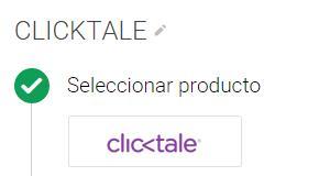 Etiqueta Clicktale Google Tag Manager