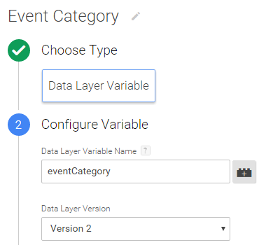 variable event category