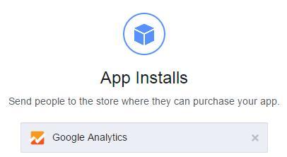 Facebook Ads App installs Campaign