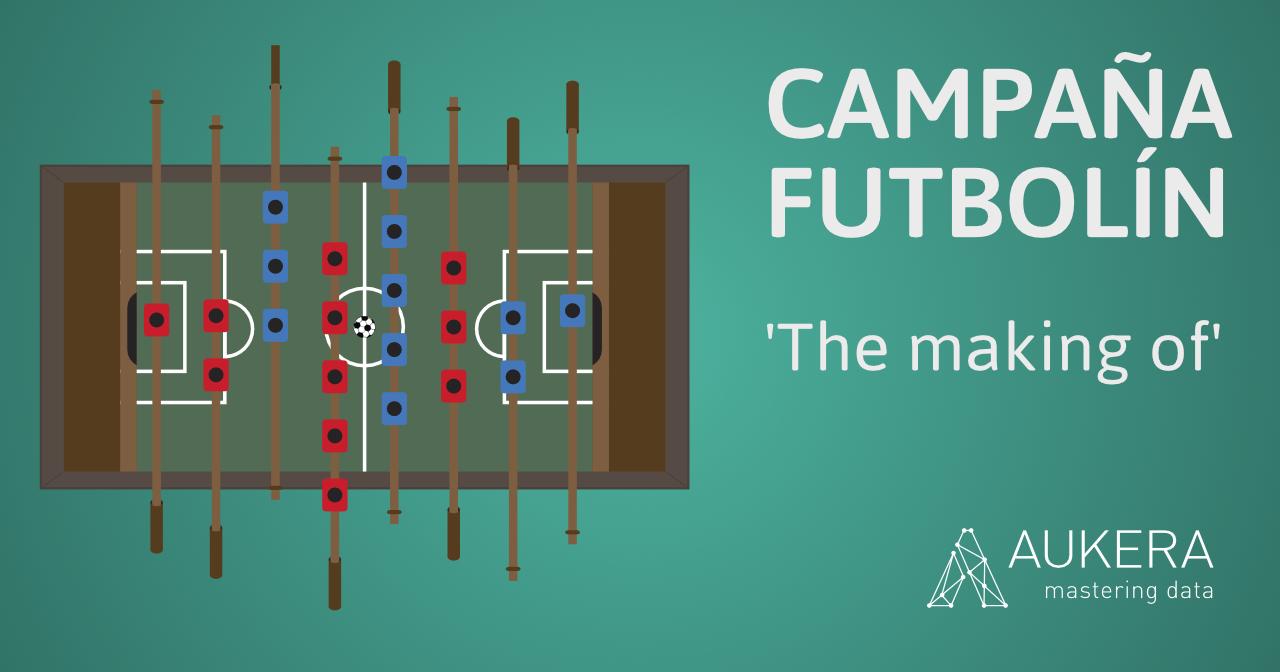 Campaña futbolín: 'The making of'