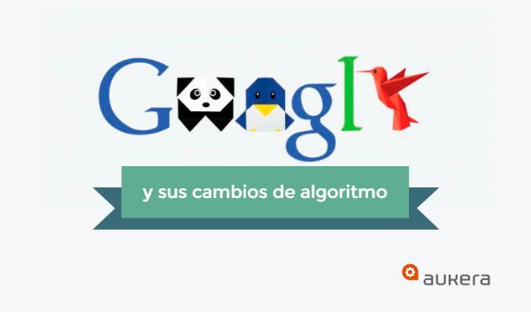 Google y sus cambios de algoritmo