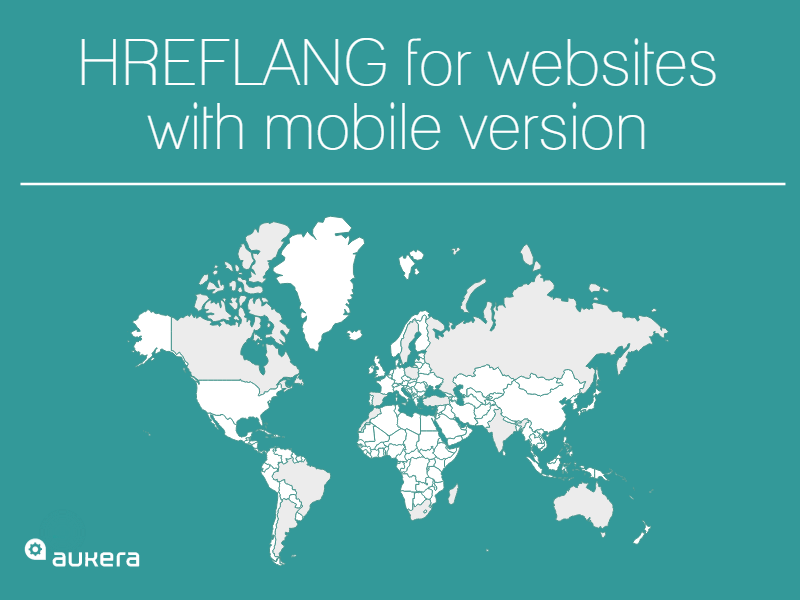 Hreflang for websites with mobile version