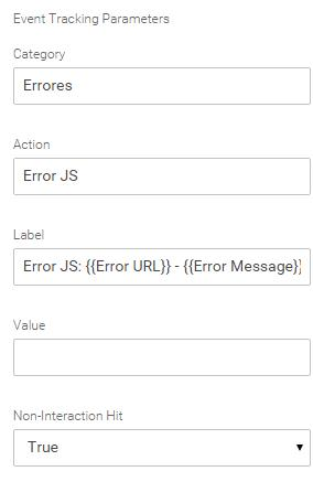 Javascript error google analytics tag manager