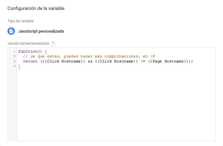 Enlaces externos - deteccion alternativa via javascript