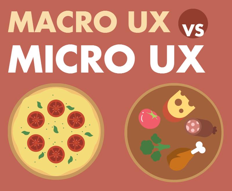 Macro UX vs. Micro UX