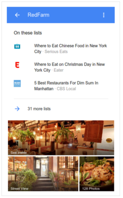 Microformatos: top places lists