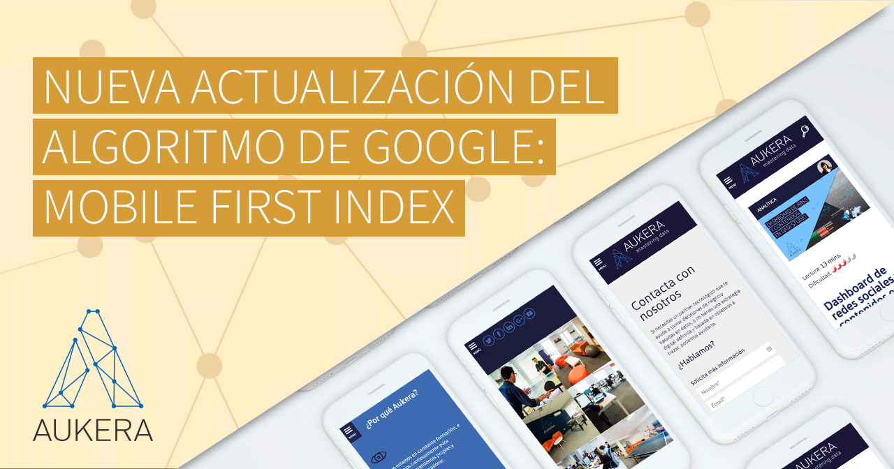 Nueva actualización del algoritmo de Google: Mobile First Index