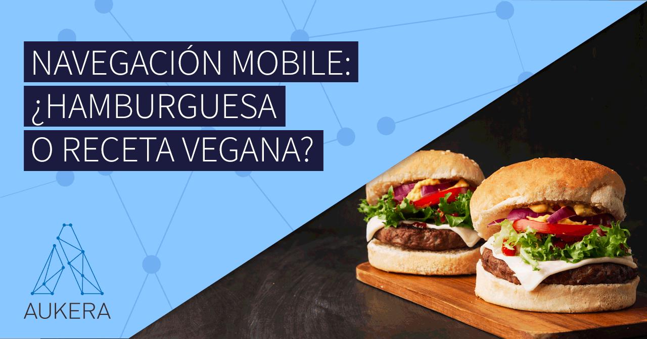 Navegación mobile y menú hamburguesa