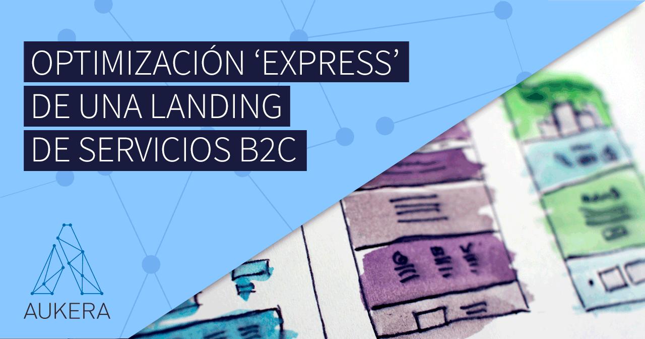 Optimización landing B2C