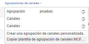 Canales Multi Channel Funnel