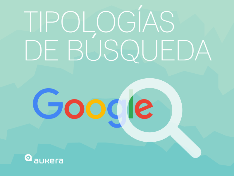 Tipologías de búsqueda