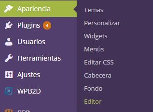 wordpress-apariencia-editor