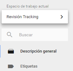 Selección workspace